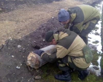 Специалистами МЧС в Чечне обезврежена 100-килограммовая авиабомба