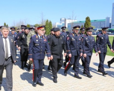 В Чечне почтили память погибших в борьбе с терроризмом