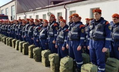 Чечня принимает участие в крупномасштабном учении МЧС России