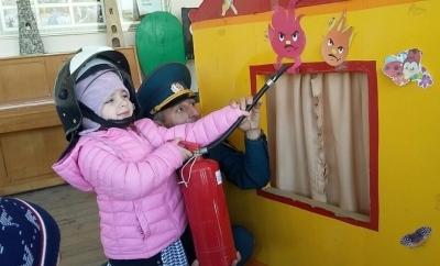 «Неделя гражданской обороны» прошла в детском саду поселка Ойсхара