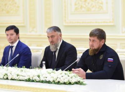 Рамзан Кадыров посетил Узбекистан