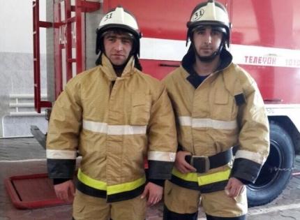 Чеченский пожарный стал лучшим на Северном Кавказе