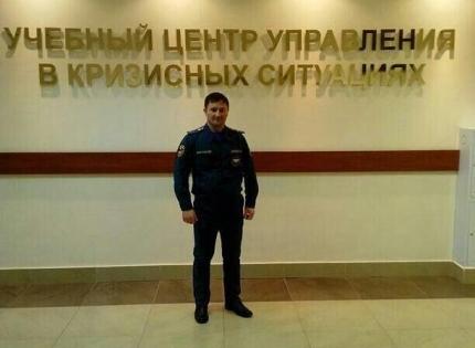 Чеченский пожарный спас от смерти мужчину в аэропорту «Внуково»